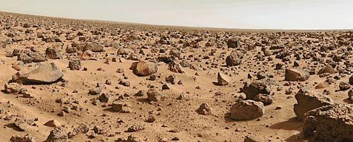 Марсианская поверхность