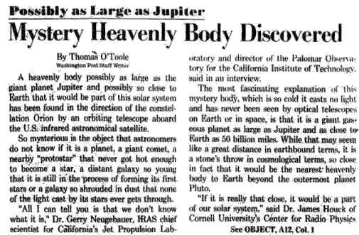 Washington Post от 30(31) декабря 1983 года