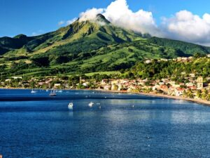 Мартиника - вулкан Мон-Пеле