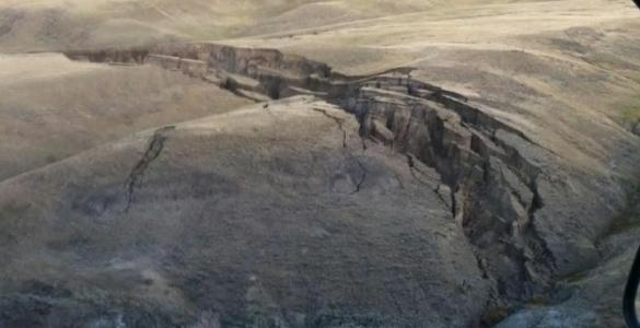 В Йеллоустоне появилась огромная трещина